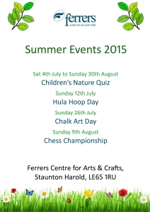 2015 Summer Events Poster - external copy